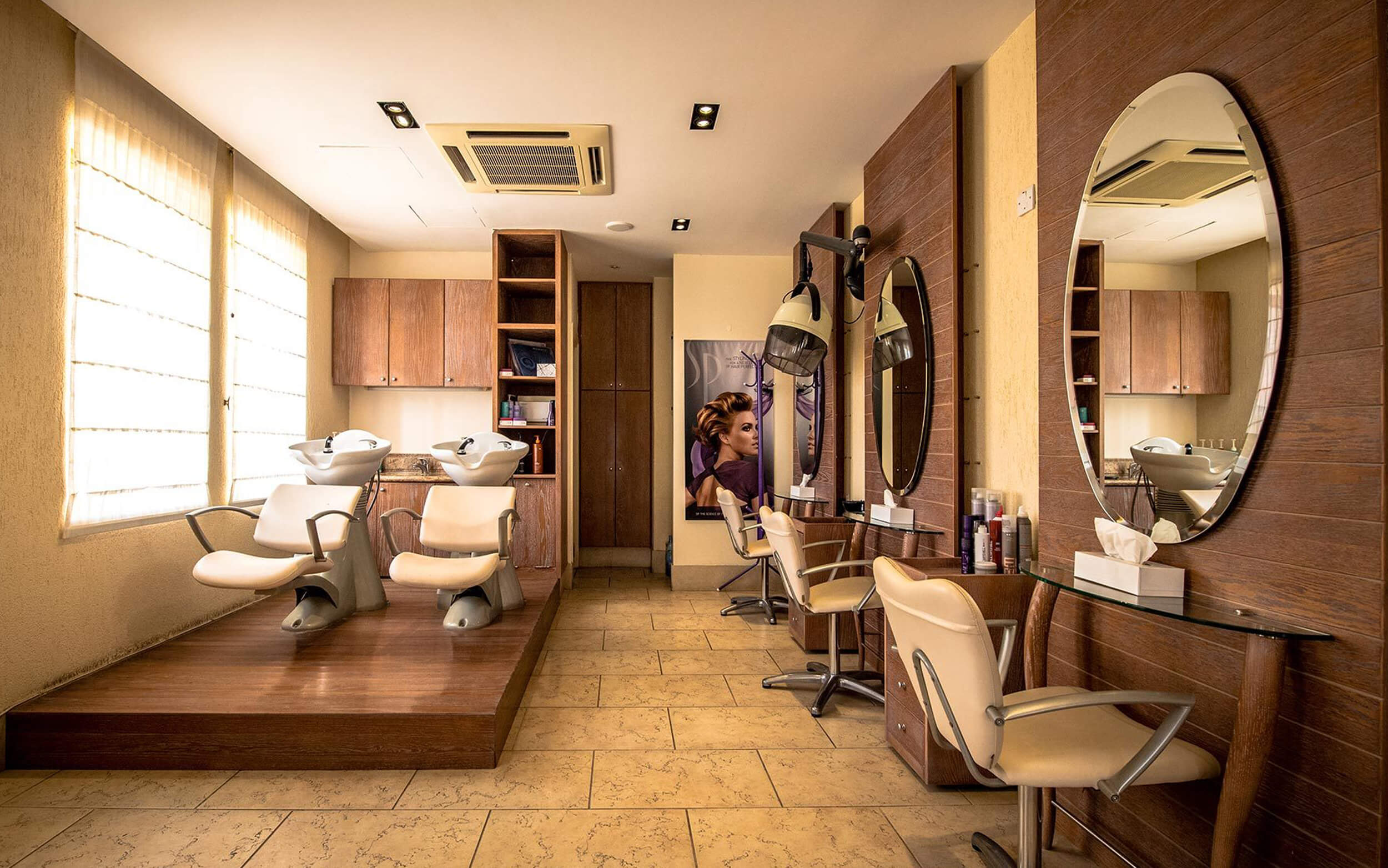 spa and hairdressing paphos